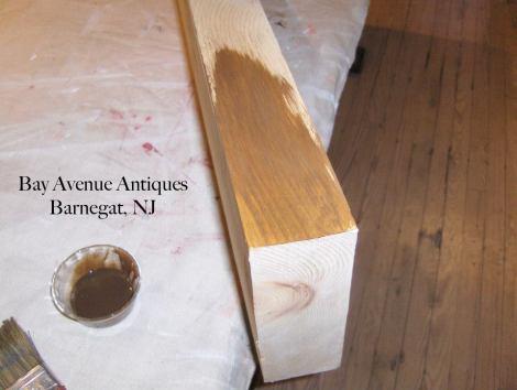 3. coat wood completely