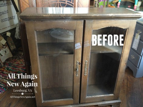 china cabinet_before
