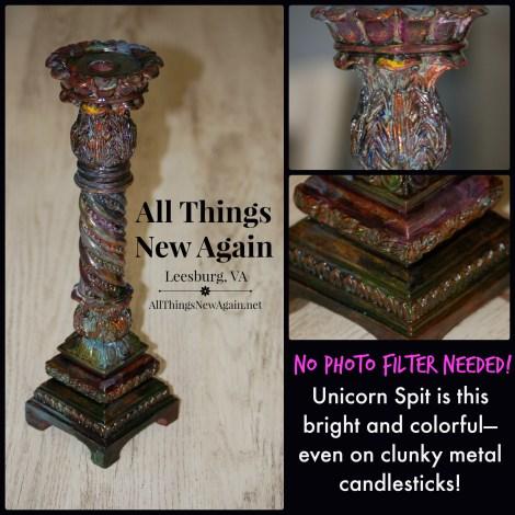Unicorn Spit_clunky candlestick