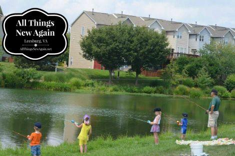 pop kids fishing