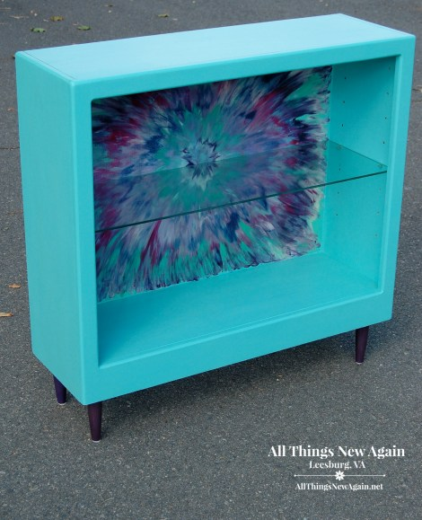 Unicorn Spit Aura Blast Book Shelf | DIY | Colorful Furniture Makeovers | All Things New Again