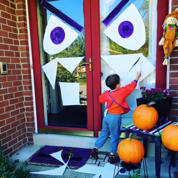 Spooky Eyes   Halloween Decor   Halloween Front Door Decoration   All Things New Again