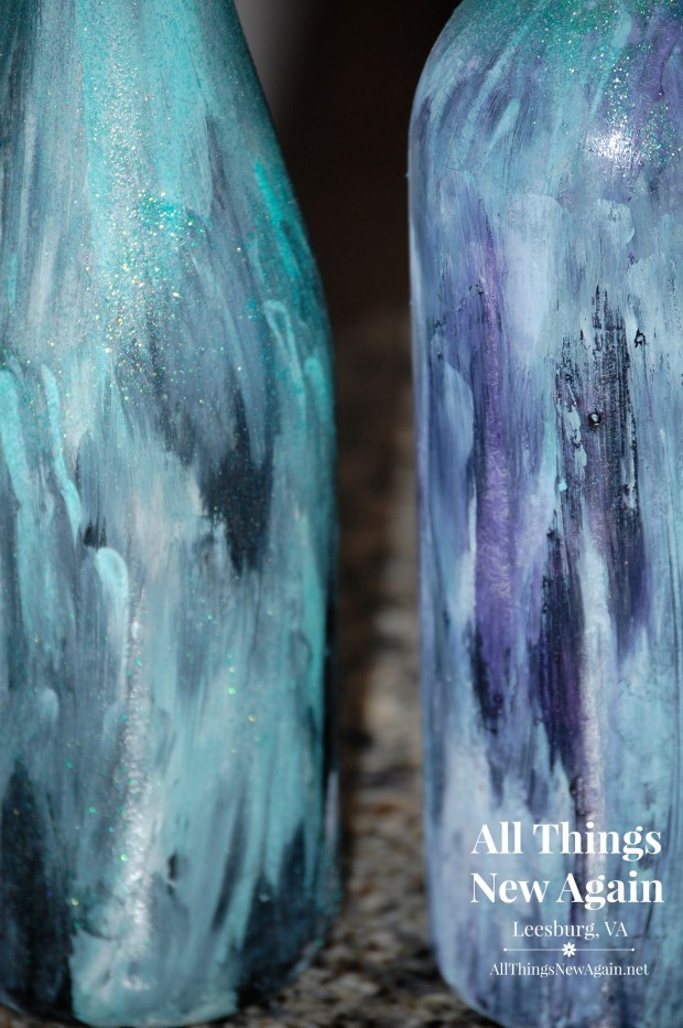 Unicorn Spit Wine Bottles | Unicorn Spit Class | Furniture Painting Class | Northern Virginia | All Things New Again