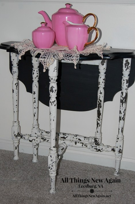 Real Milk Paint Chippy Paste Table