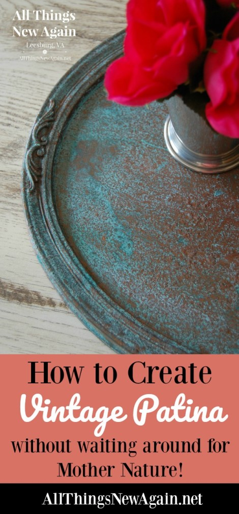How to Create Vintage Patina and Rust on Painted Furniture and Home Decor | Dixie Belle Paint Co. | Patina Collection