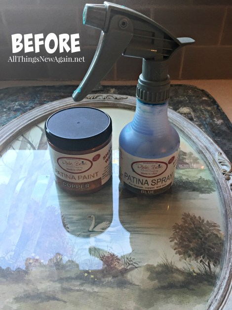 Dixie Belle Paint Co.   Patina Collection   Ideas for Outdated Yard Sale Art   How to Make Frames Look Vintage   Home Decor Ideas