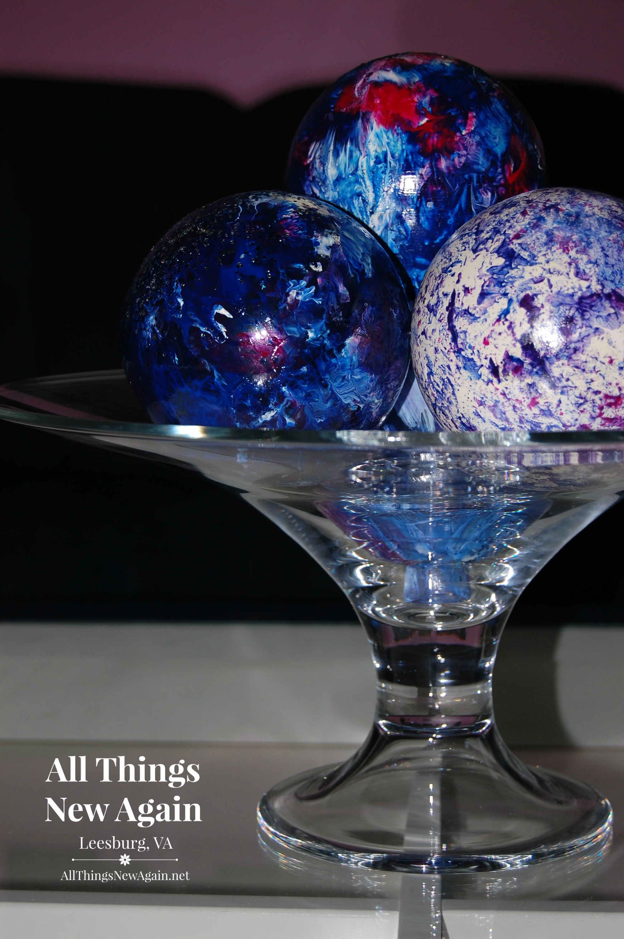 How To Create Gorgeous Glass Decor With Unicorn Spit All