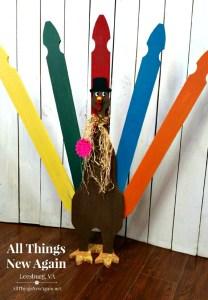 Giant Turkey Painting Workshop | All Things New Again | Leesburg, VA