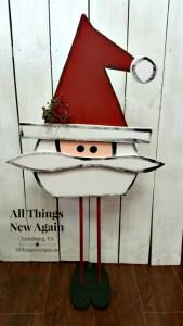 Santa Painting Workshop | Only at All Things New Again, Leesburg VA