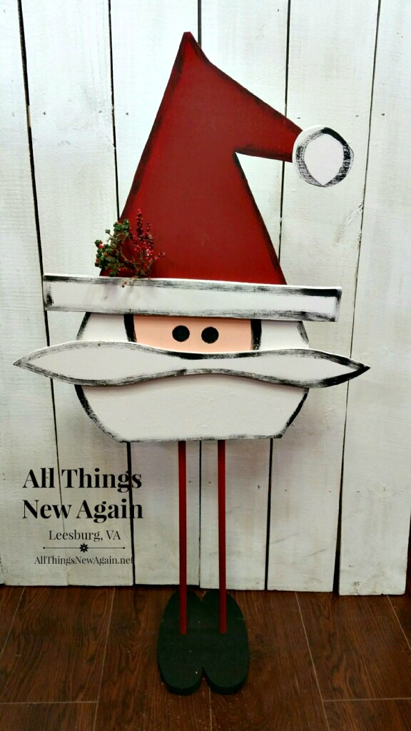 All Things New Again's Santa Painting Workshop