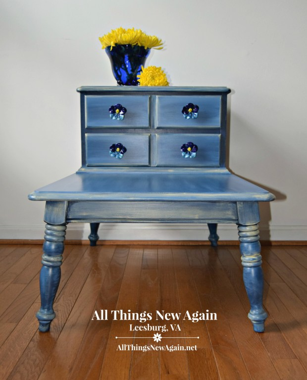 Table | Side Table | Accent Table | Painted Furniture | All Things New Again | Furniture Store | Loudoun County VA