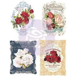Wild Roses | ReDesign with Prima | Furniture Transfer | For sale at All Things New Again | Leesburg VA