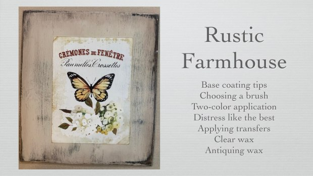 Rustic Farmhouse furniture painting techniques | Learn How to Paint Furniture