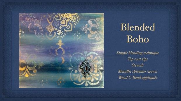 Blended Boho | blending paint | painted furniture | boho style