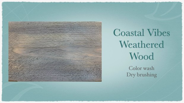How to paint weathered wood | online furniture painting class