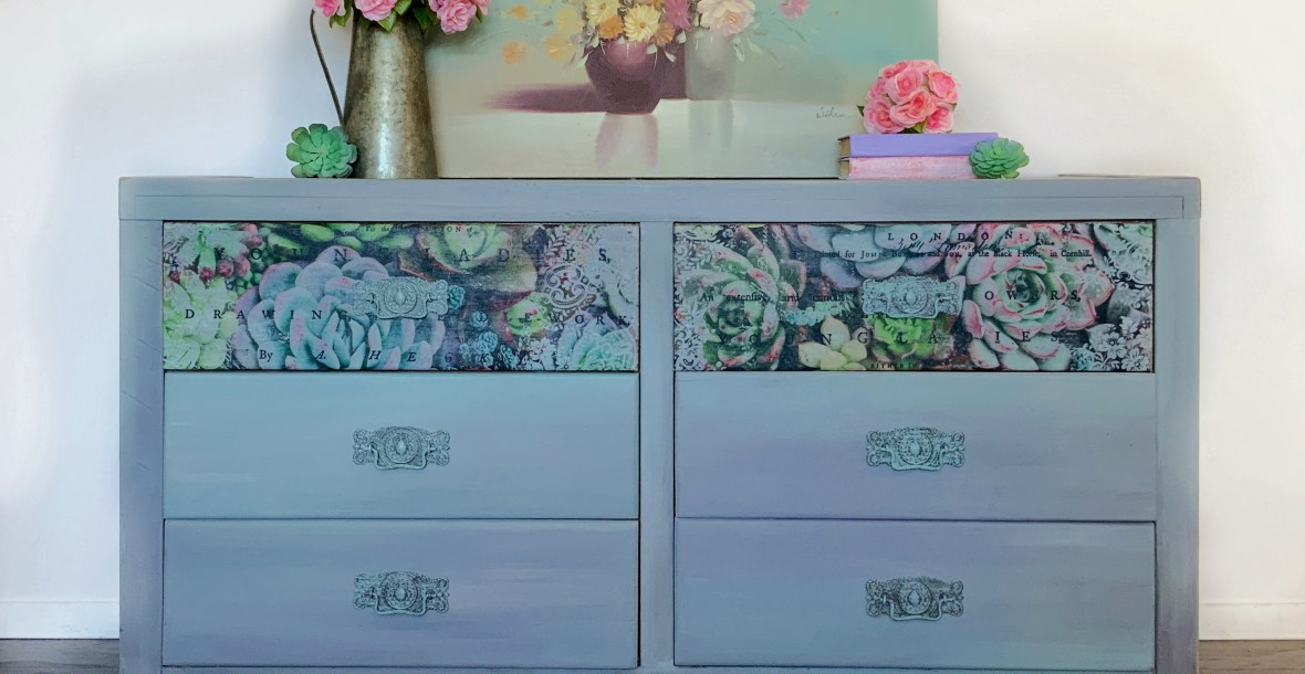 Rustic Gray Dresser | All Things New Again | Furniture Store | Dixie Belle Paint Retailer | Leesburg, VA | Loudoun County | Northern Virginia