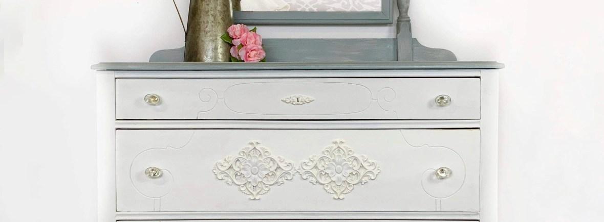 Modern Farmhouse White Dresser