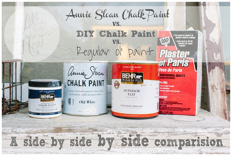 Chalk Paint Comparison- DIY vs. Annie Sloan046
