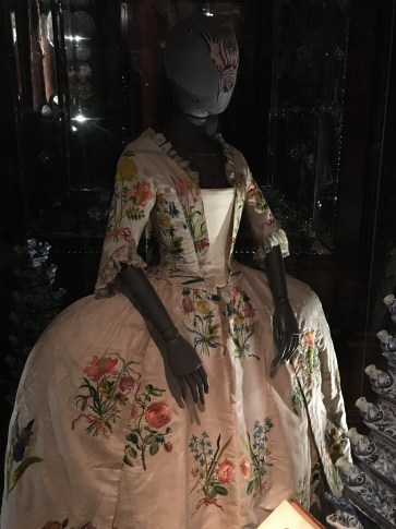 18th century floral dress