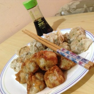Fried and Steamed Siomai