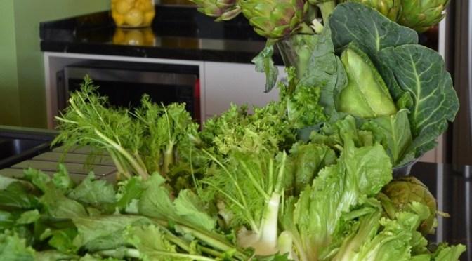 Vegetables in Season- winter, Melbourne, Victoria, September