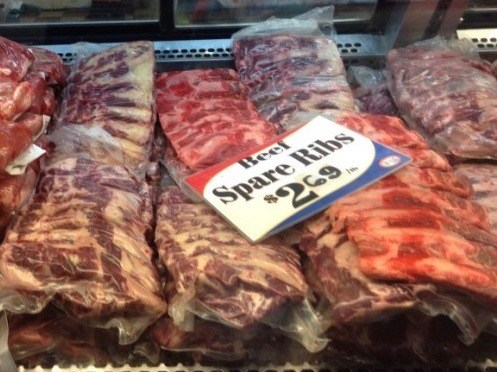 MICHIGAN, DETROIT, GRAND RAPIDS food and produce. Beef Spare Ribs Recipe.