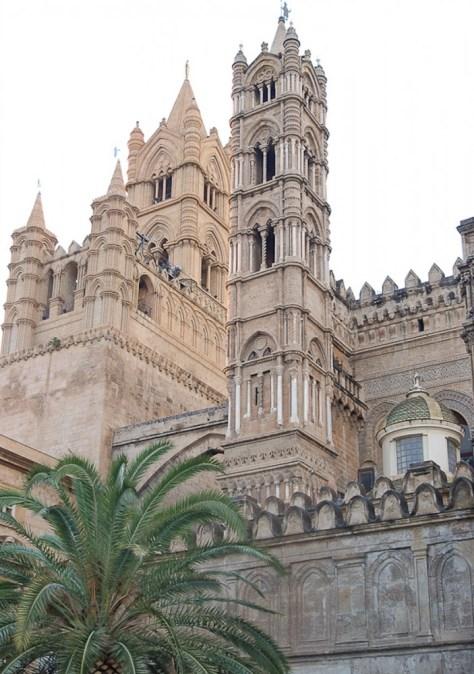 Palermo Cathedral campanile_go