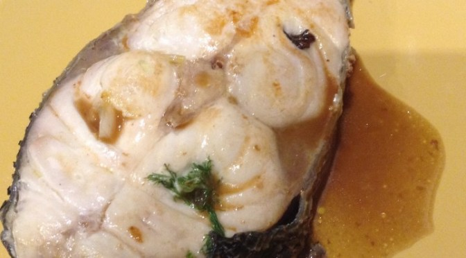 FISH STUDDED WITH SICILIAN FLAVOURS