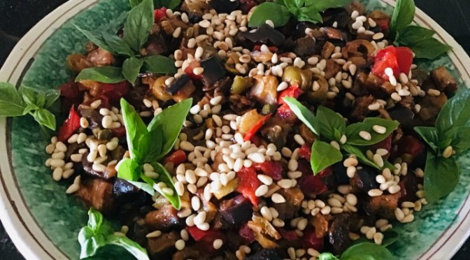 CAPONATA Catanese (from Catania) made easy with photos