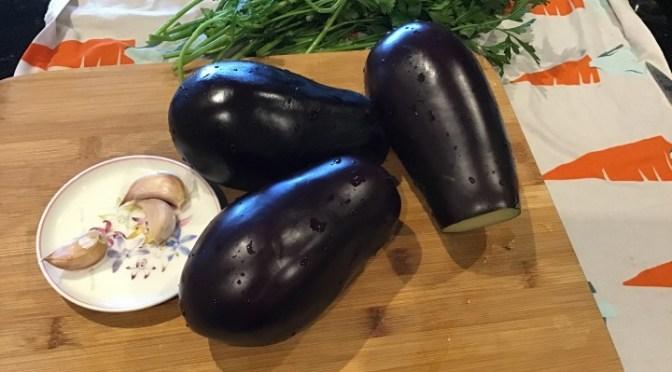 MELANZANE – eggplants – A FUNGHETTO or TRIFOLATE