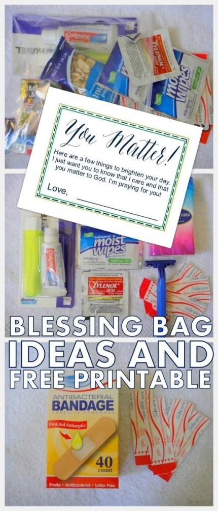 BLESSING BAG IDEAS
