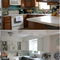 Bi Fold Kitchen Cabinet Doors Bamboo Flooring In My Fixer Upper Inspired Reveal!