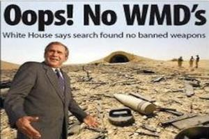 What no WMD's???