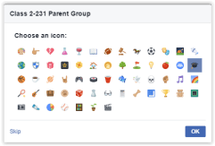 Pick an icon to represent your group