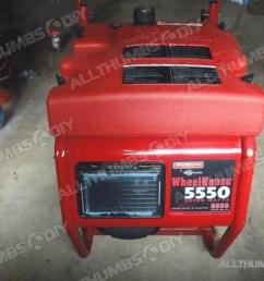 fast and easy fix for your generac wheelhouse 5500 5550 portable generator allthumbsdiy com [ 1080 x 810 Pixel ]