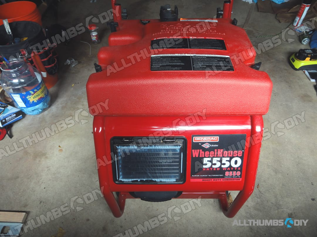 hight resolution of fast and easy fix for your generac wheelhouse 5500 5550 portable generator allthumbsdiy com