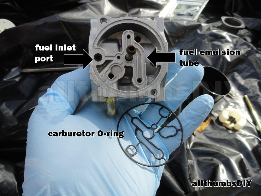 Nikki Carburetor Identification 5500 Generator