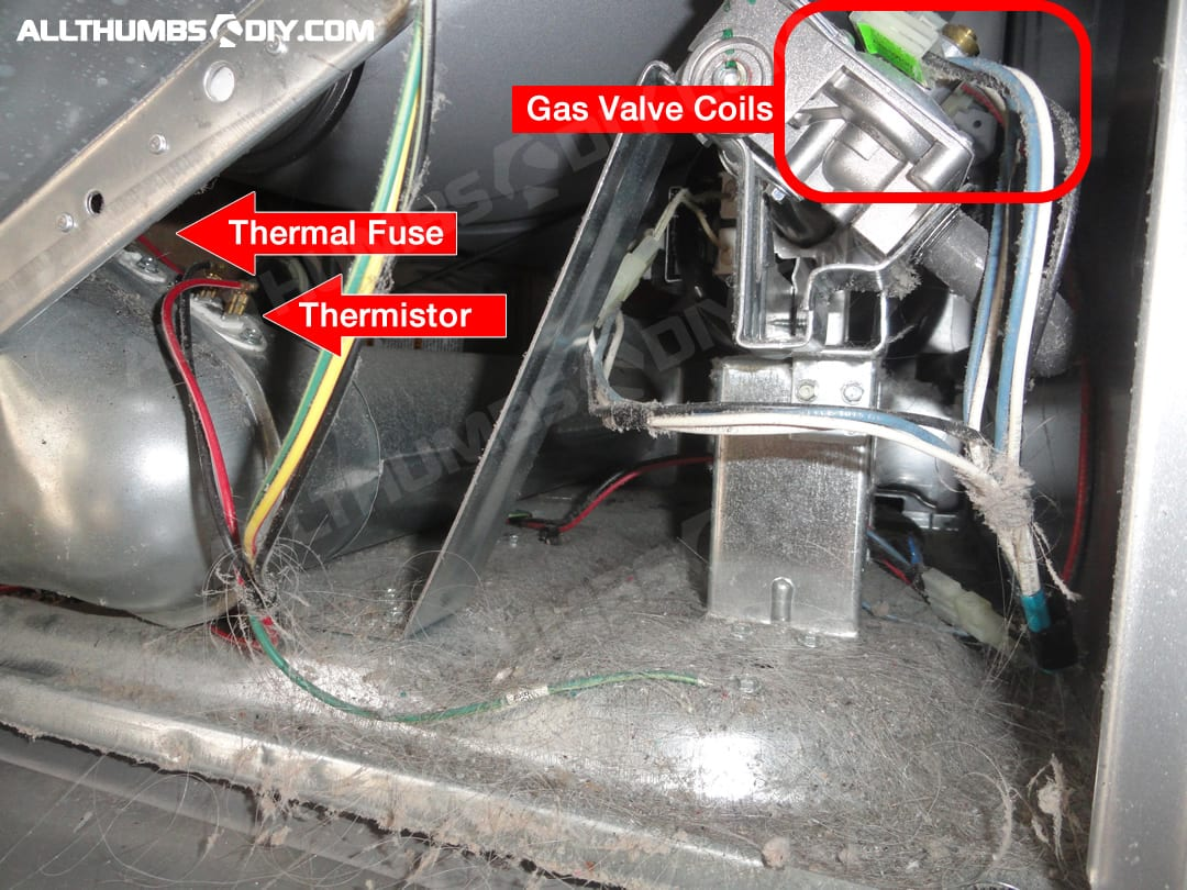 hight resolution of whirlpool duet gas dryer how to fix low heat no heat problemallthumbsdiy whirlpool duet gas dryer