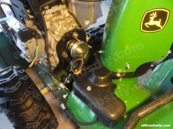 john deere snow blower auger belt