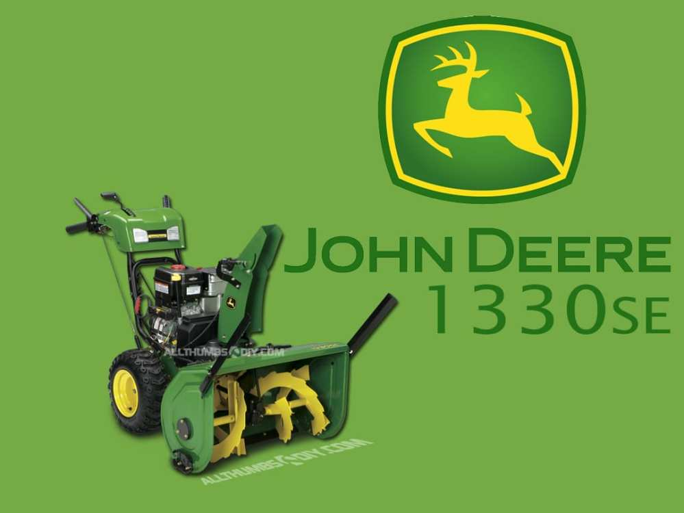 medium resolution of john deere 1330se walk behind snowthrower reference page 1 allthumbsdiy com