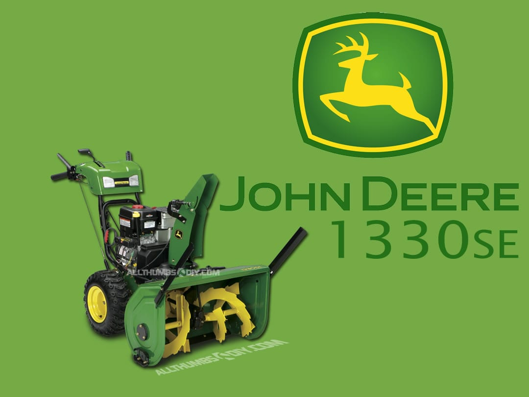 hight resolution of john deere 1330se walk behind snowthrower reference page 1 allthumbsdiy com
