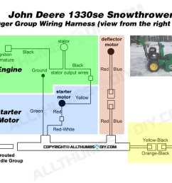 allthumbsdiy snow thrower john deere 1330se wiring harness  [ 1080 x 810 Pixel ]