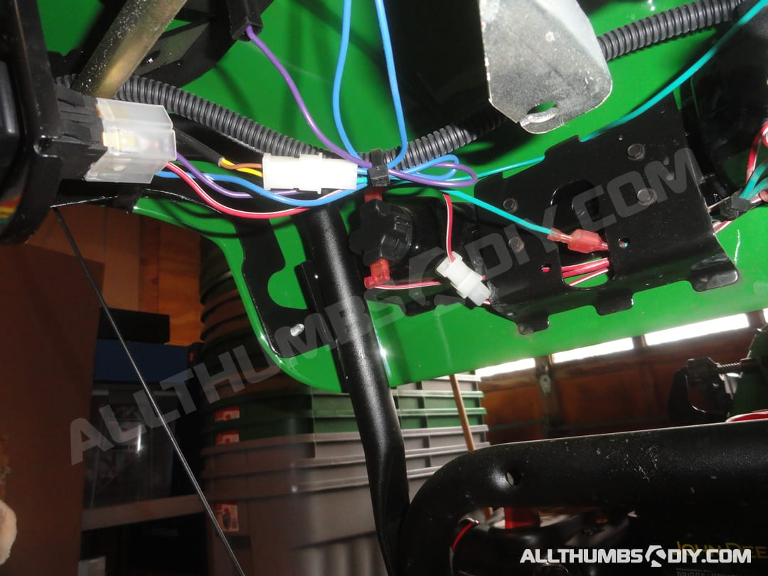 hight resolution of john deere 1330se snowblower wiring harness for the handle group