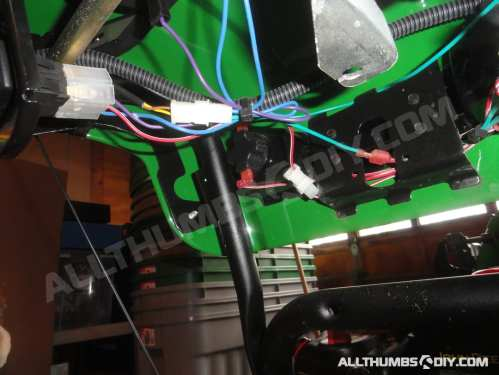 small resolution of john deere 1330se snowblower wiring harness for the handle group