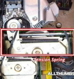 allthumbsdiy johndeere 1330se belt tension spring fl [ 1080 x 810 Pixel ]