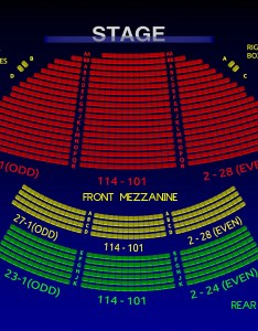 Interactive  seating chart zoom also the bernard  jacobs theatre all tickets inc rh allticketsinc