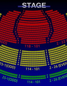 The walter kerr theatre you are here home venues interactive  seating chart also all tickets inc rh allticketsinc