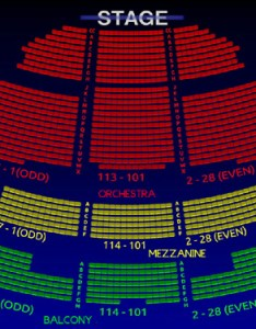 Richard rodgers theatre interactive  seating chart also the all tickets inc rh allticketsinc