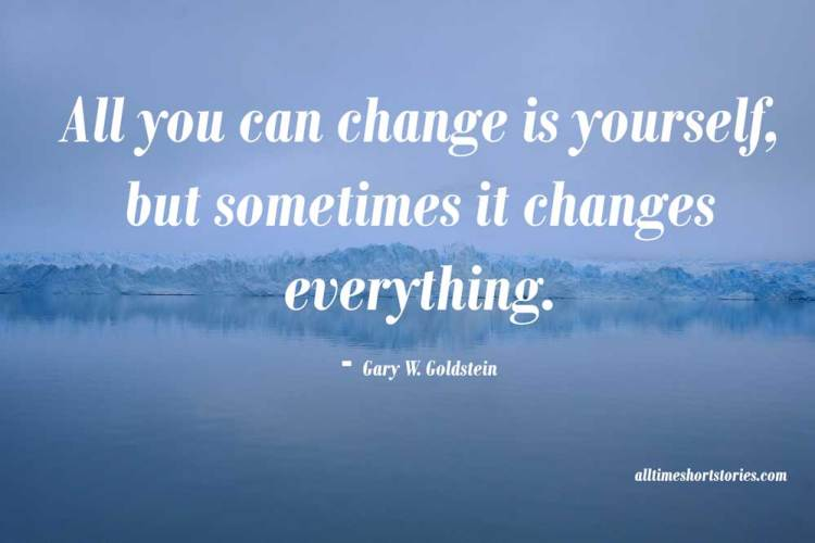 Inspirational quote about change