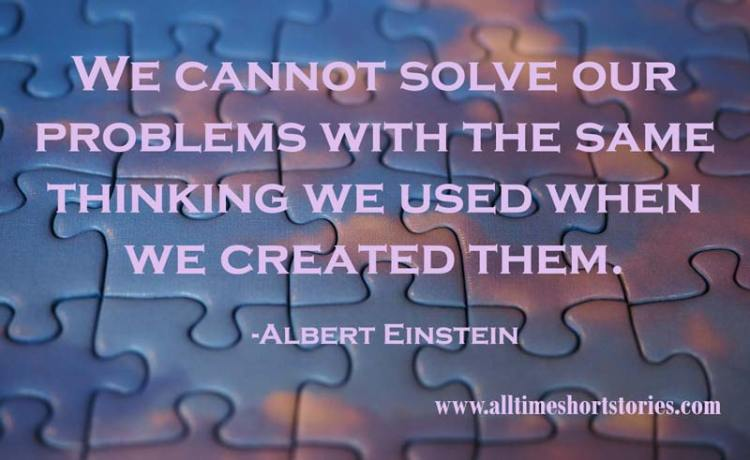 Quote about Solving Problem
